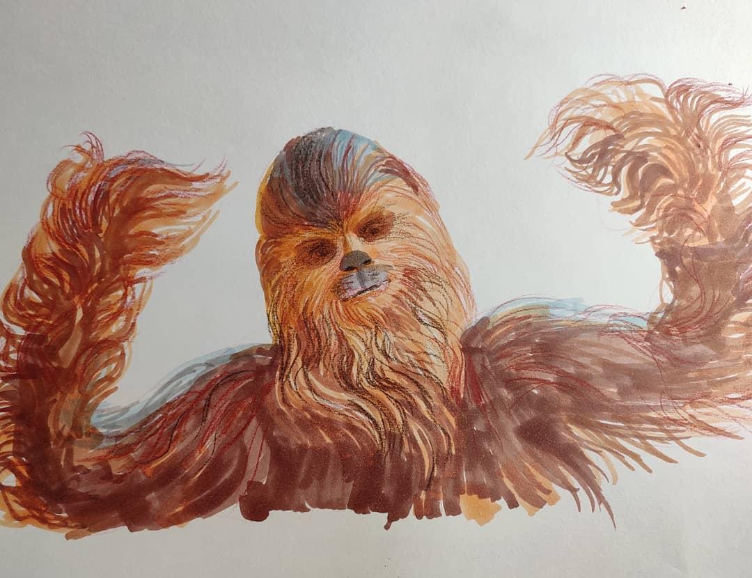 dibujar star wars con niños