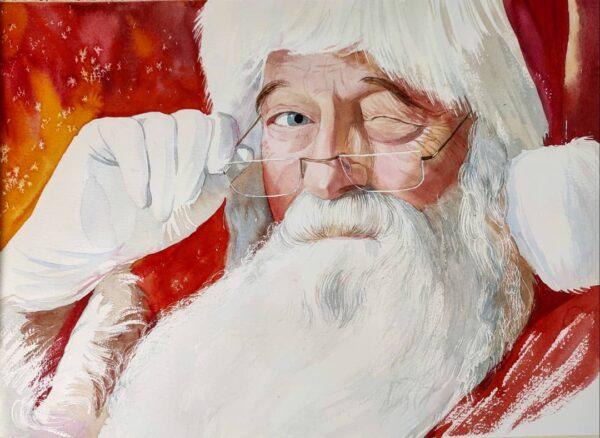 clases de acuarela regalo de Navidad